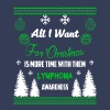 Lymphoma Awareness! All I Want For Christmas! - Men's Premium T-Shirt