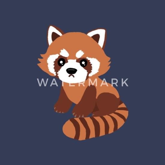 Roter Panda Kleiner Panda Tier Comic Suss Manner Premium T