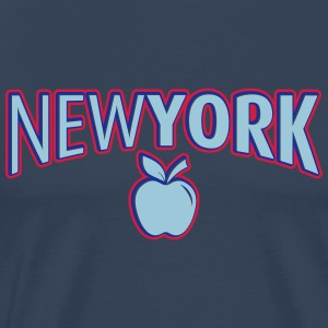 New York 2 - Premium T-skjorte for menn