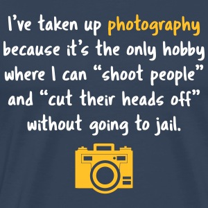Photography hobby - camera - Men's Premium T-Shirt