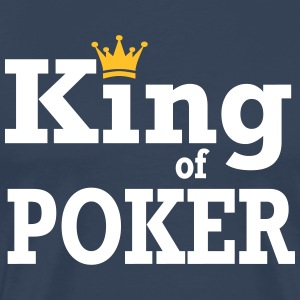 King of Poker - Herre premium T-shirt