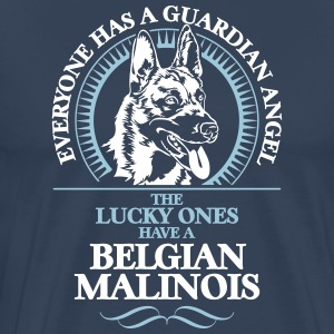 GUARDIAN ANGEL Malinois - Premium-T-shirt herr