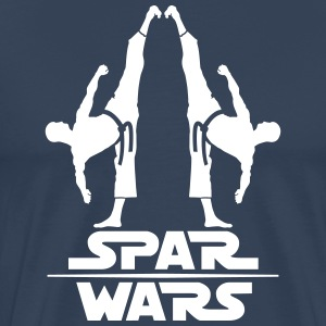 Spar Wars Martial Art - Men's Premium T-Shirt