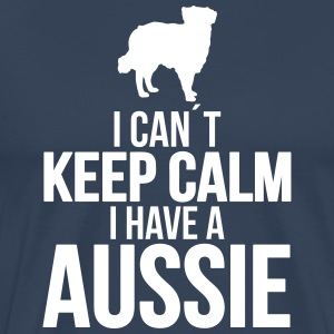 I can't KEEP CALM Aussie - Men's Premium T-Shirt