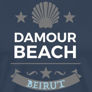 Damour Beach - Premium T-skjorte for menn
