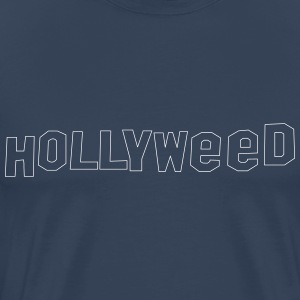 Hollyweed shirt - Premium T-skjorte for menn