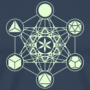 Metatrons Cube, Platonic Solids, Flower of Life