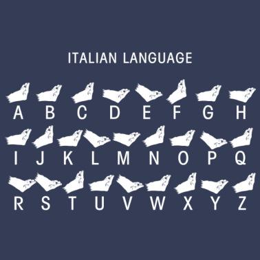 Italienischer Fussballfan Manner T Shirt Spreadshirt