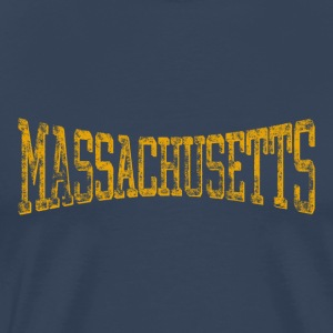 Massachusetts Vintage Retro - Men's Premium T-Shirt