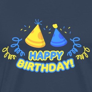 Happy Birthday! - Premium T-skjorte for menn