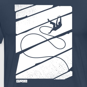 flying rope - Men's Premium T-Shirt