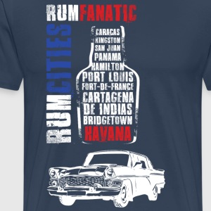 T-shirt rum - Havana - shirt lover of rum - Men's Premium T-Shirt