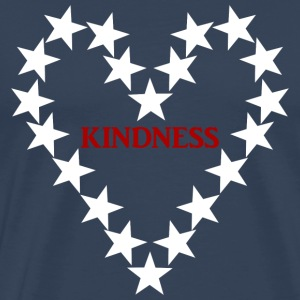 KINDNESS WHITE - Männer Premium T-Shirt