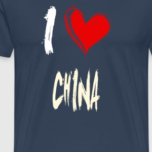 I love china - Männer Premium T-Shirt