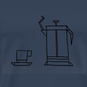 French Press - Premium T-skjorte for menn