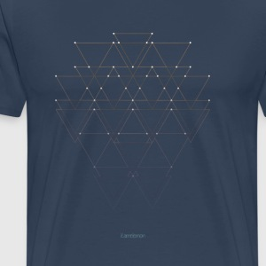 Abstract - Constellation Linie - Männer Premium T-Shirt