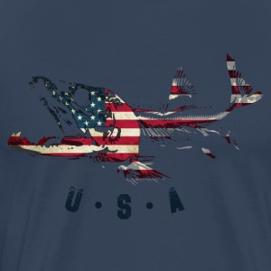 SALMON usa - Men's Premium T-Shirt