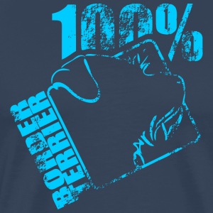 BORDER TERRIER 100 - Männer Premium T-Shirt