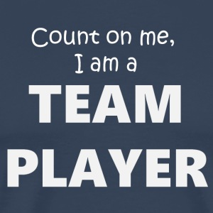 Team Player 4 (2173) - Herre premium T-shirt