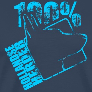 Dutch Shepherd 100 - Premium-T-shirt herr