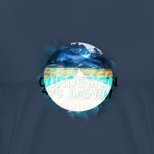 OD-ID: 002 TIP OF THE ICEBERG - Mannen Premium T-shirt