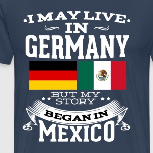 Mexican In Germany - Men's Premium T-Shirt