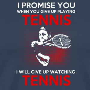 tennis lover - Premium-T-shirt herr