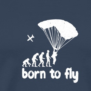 Evolution Skydiving - Men's Premium T-Shirt