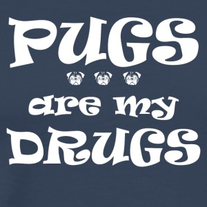Pugs_are_my_Drugs - Premium-T-shirt herr