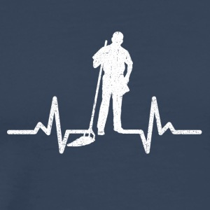 My heart beats for the nursery - Men's Premium T-Shirt