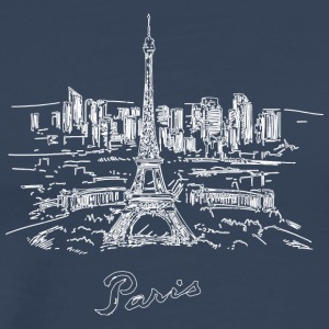 Paris City - France - Men's Premium T-Shirt
