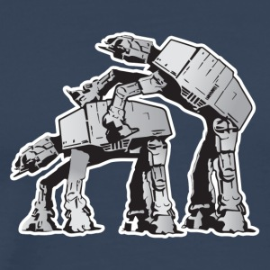 AT-AT Robot sex STAR, WARS - Männer Premium T-Shirt