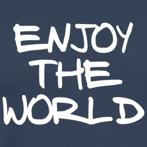 ENJOY THE WORLD - Men's Premium T-Shirt