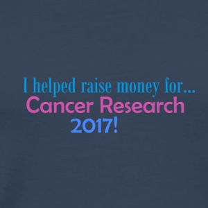 Cancer Research 2017! - Premium-T-shirt herr