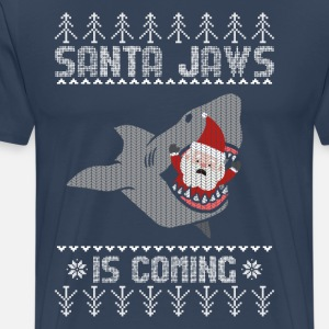 Christmas Shark Joulupukki Ugly Sweater