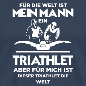 Triathlon woman triathlete gift · the world