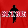 24 / 7 / 365 - Firefighter - Männer Premium T-Shirt