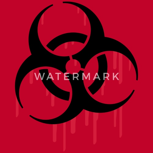 Biohazard Blood Van Style O Mat Spreadshirt