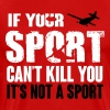 skydiving. this sport can kill you - T-shirt Premium Homme