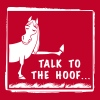 Talk to the Hoof shirt. - Men's Premium T-Shirt