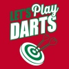 Let's play darts - Männer Premium T-Shirt