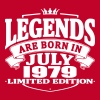 Legends are born in july 1979 - Men's Premium T-Shirt