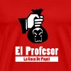 El Profesor - La Casa De Papel - House of Money - Mannen Premium T-shirt