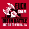 Viking - Die in battle and go to valhalla - T-shirt Premium Homme