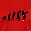 Evolution of silly walks - Men's Premium T-Shirt