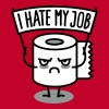 I hate my job - Toilet paper - Men's Premium T-Shirt