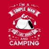 Tits and camping - Men's Premium T-Shirt