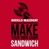 Shield maiden! Make your own damn sandwich - Koszulka męska Premium