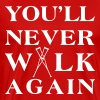 You ll never walk again YNWA - Men's Premium T-Shirt