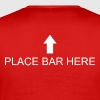Place bar here - Herre premium T-shirt